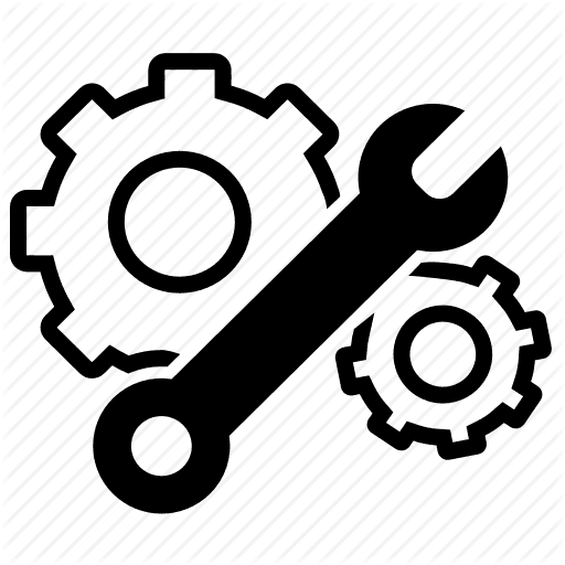 mechanical code icon