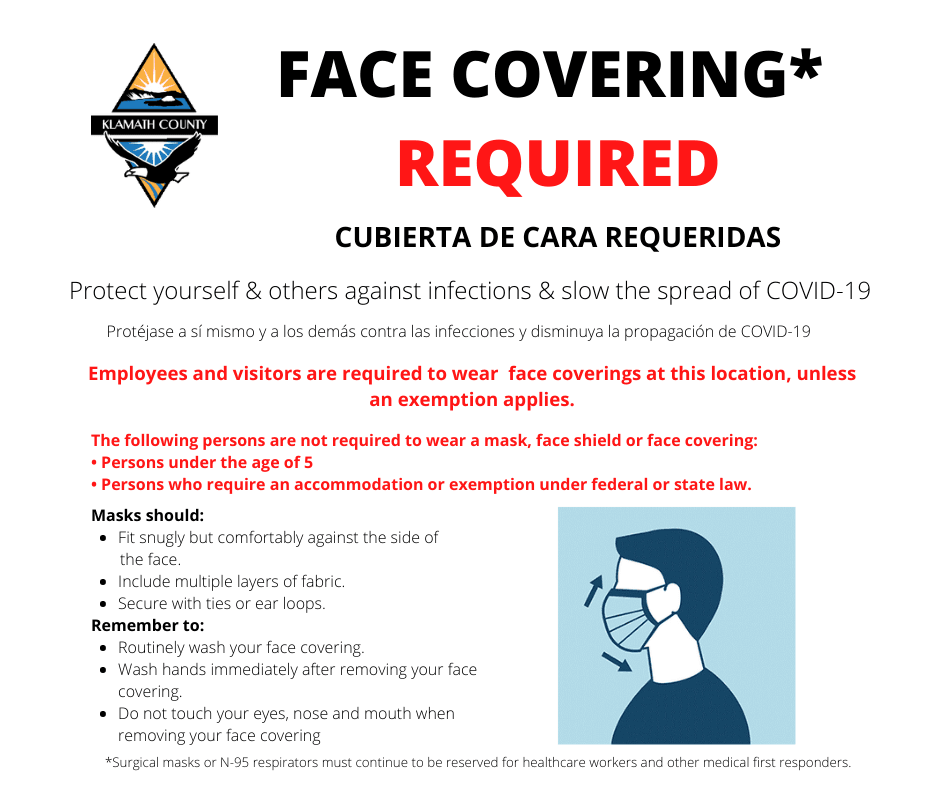 Face Covering Required Notice