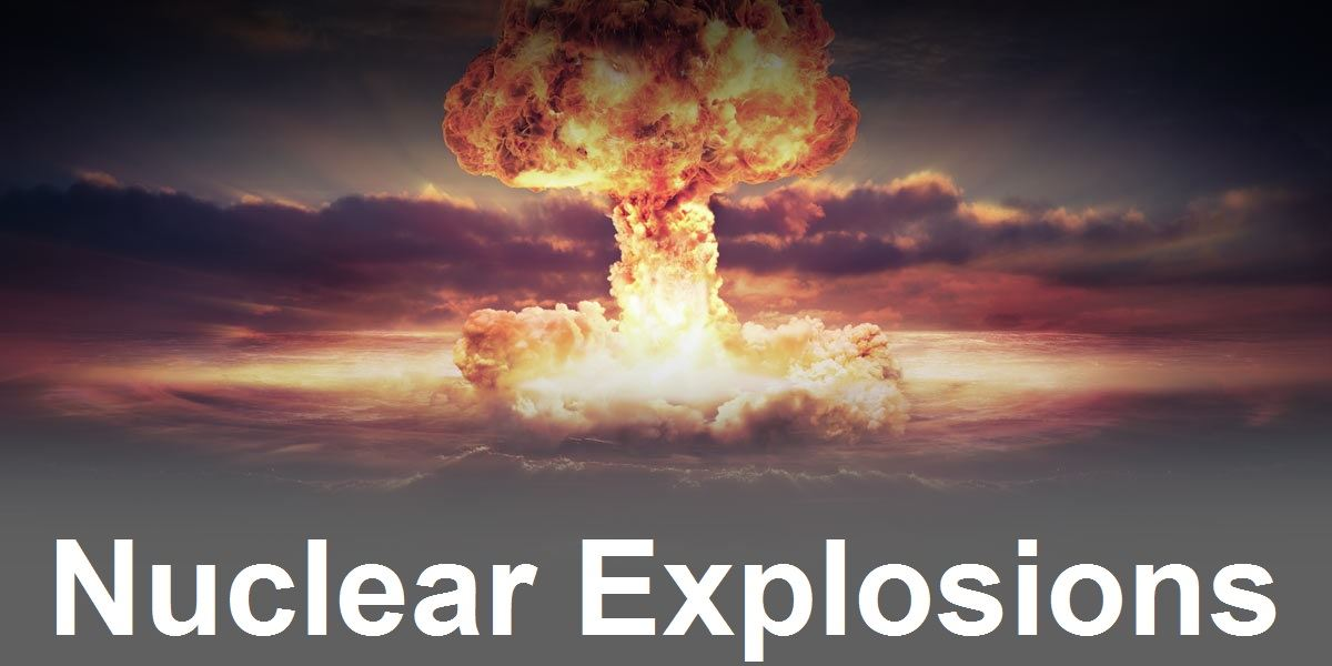 Nuclear Explosions Image Link
